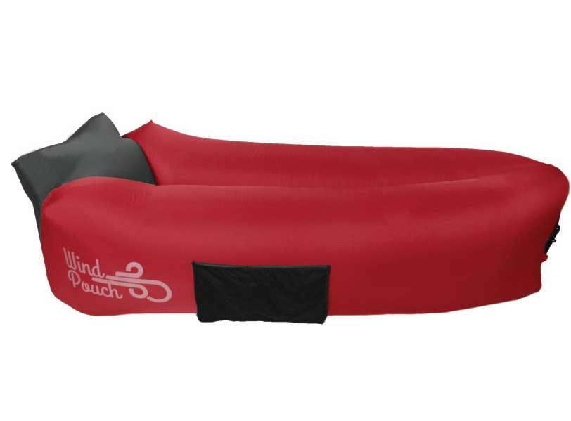 Windpouch GO Inflatable Hammock - Imperial Red WND-0003-1