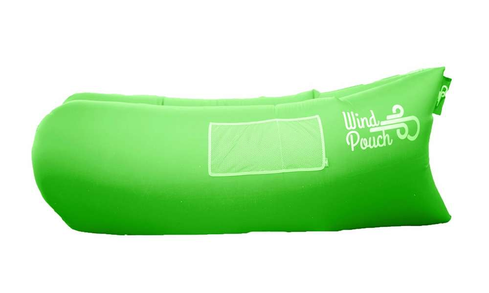 Windpouch Inflatable Hammock - Emerald Leafy