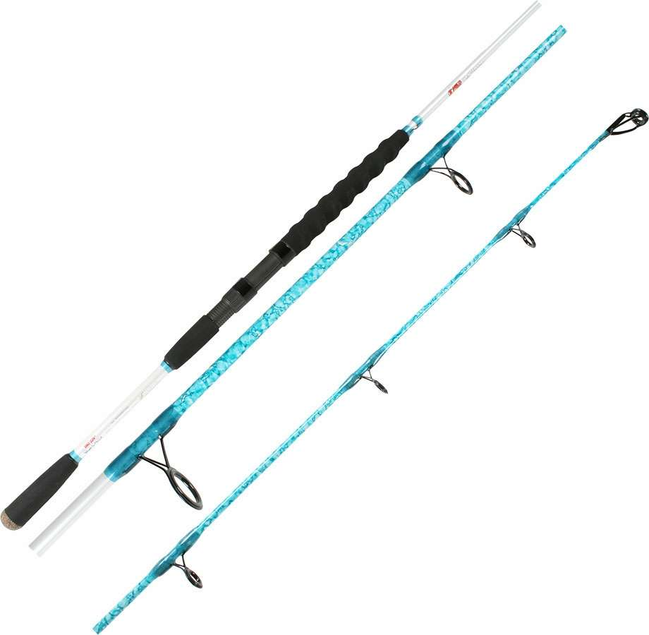 Wright mcgill blair wiggins flats blue offshore rods for Blue fishing rod