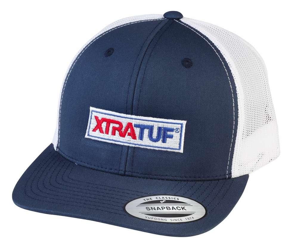 2ba264692d Xtratuf Baseball Snapback Hat - Navy White