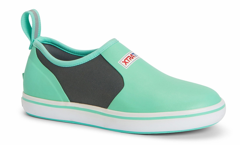 Waterproof Slip On Deck Shoe - Seafoam