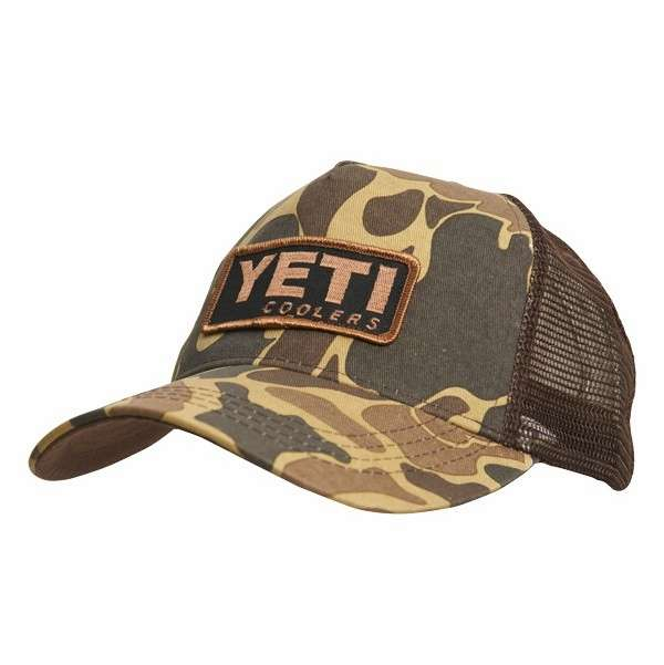 65414ba12f6cd YETI Custom Camo Hat with Patch