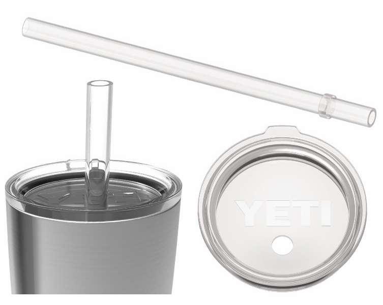 YETI RAM20STL Rambler Tumbler Straw Lid - 20 oz. YET-0183
