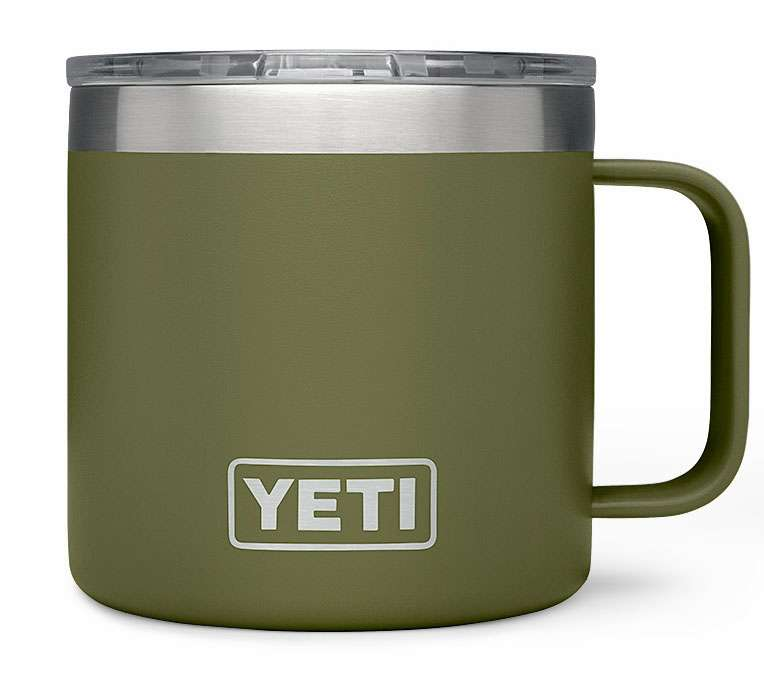 YETI Rambler 14oz Mug - Olive Green YET-0268-4