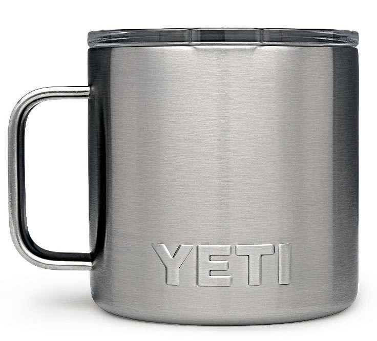 YETI Rambler 14oz Mug - Stainless YET-0268-1