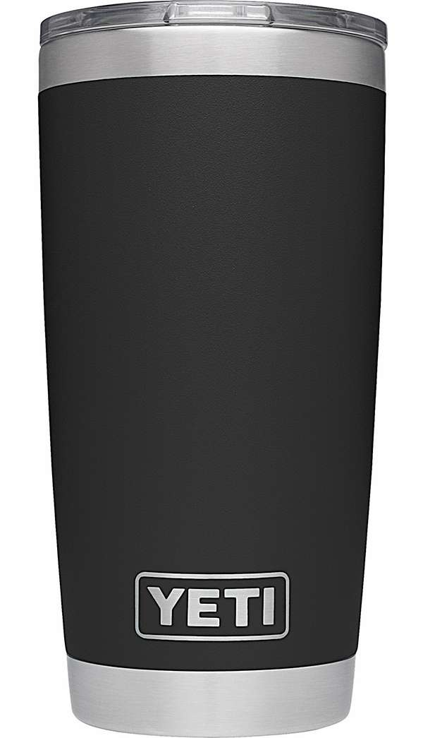 Yeti Rambler Tumbler 20oz Black Tackledirect