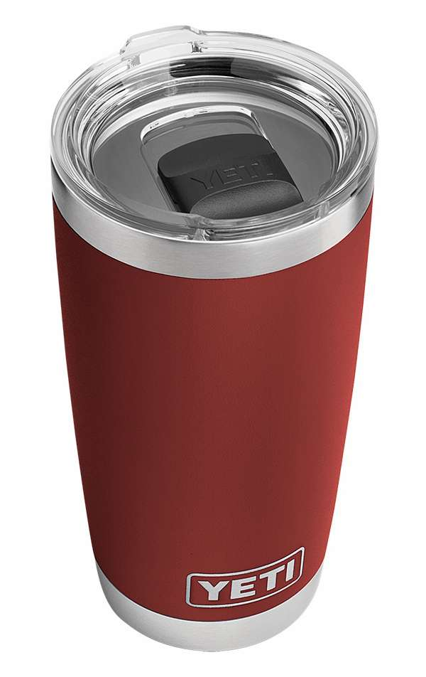 YETI Rambler Tumbler 20oz Brick Red YET-0260