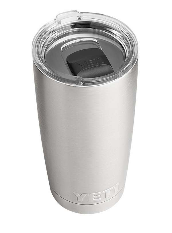 YETI Rambler Tumbler 20oz with Magslider Lid Stainless Steel YET-0269-5