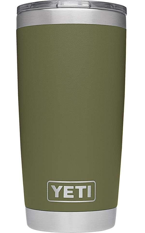 YETI Rambler Tumbler 20oz Olive Green YET-0227-4