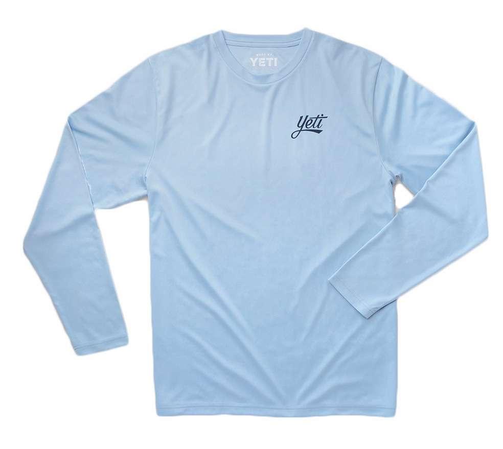 Yeti redfish long sleeve sun shirt 2xl for Fly fishing sun shirt