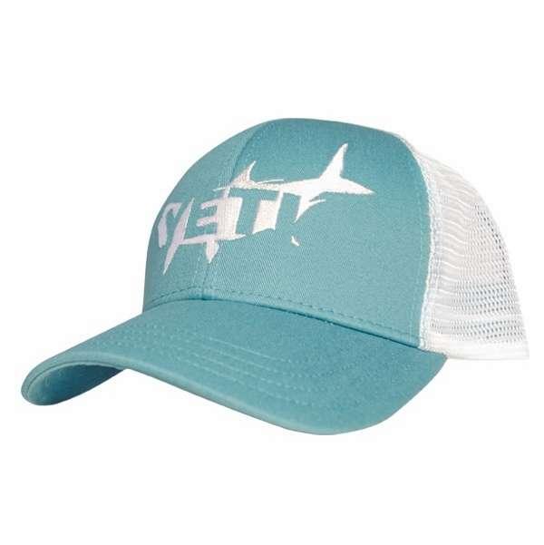 Yeti tarpon trucker hat teal tackledirect for Teal fishing pole
