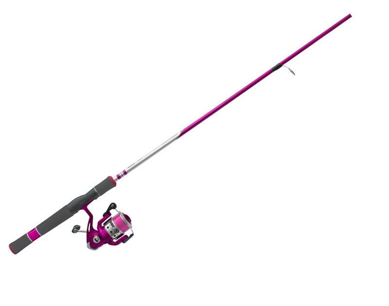 Zebco The New Authentic 33 Ladies Spincasting Reel Fishing Pink