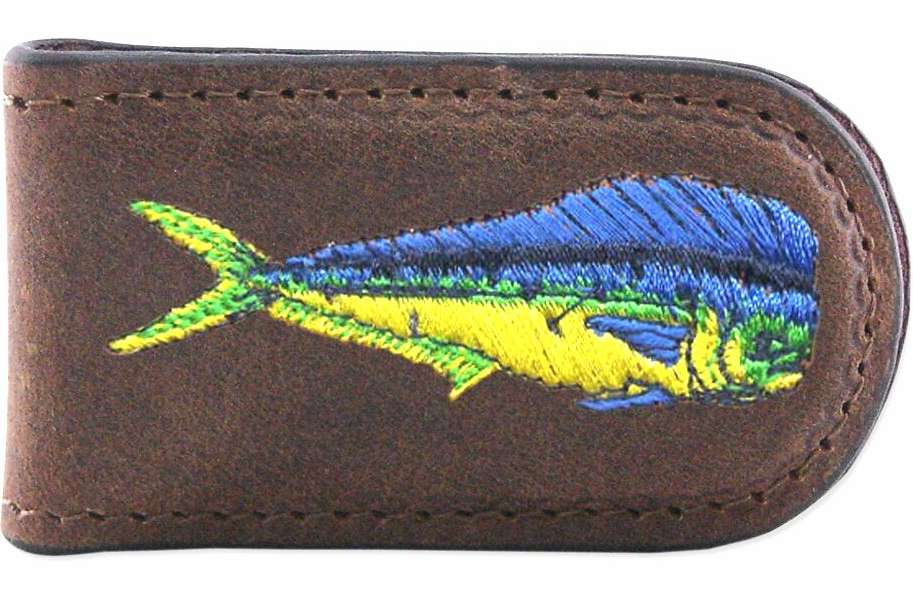 Zep-Pro Dolphin Embroidered Money Clip