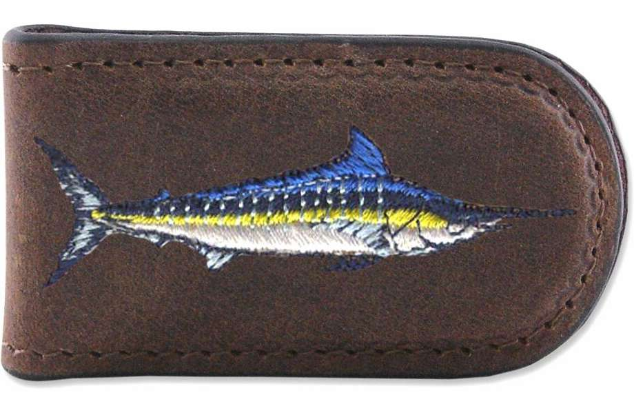 Zep-Pro Marlin Embroidered Money Clip