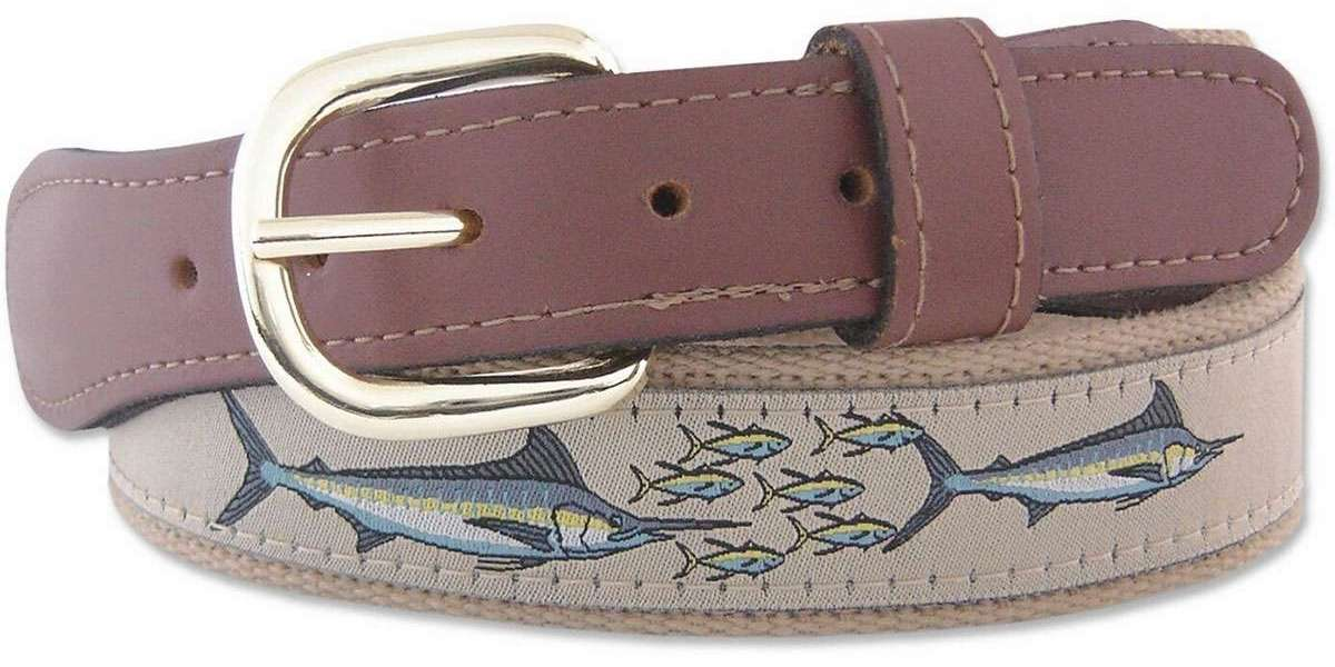 NCAA Penn State Nittany Lions Zep-Pro Leather Concho Belt Brown, 36-Inch