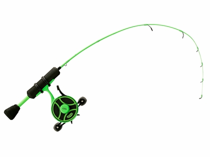13 Fishing RP27UL-LH Radioactive Pickle Ice Combo