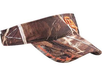 13 Fishing ''The Half Chuck'' Realtree Camo Visor