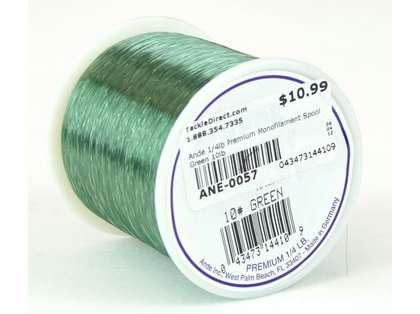 Ande Premium Mono 1/4 Lb. Spool 10 Lb. Test Green