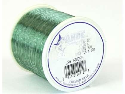 Ande Premium Mono 1/4 Lb. Spool 12 Lb. Test Green