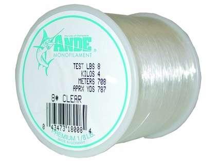 Ande Premium Mono 1/8 Lb. Spool 8 Lb. Test Clear