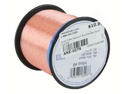 Ande Premium Mono 1/8 Lb. Spool 8 Lb. Test Pink
