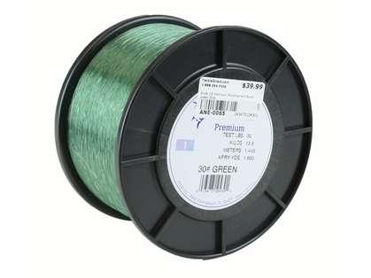 Ande Premium Mono 1 Lb. Spool 30 Lb. Test Green