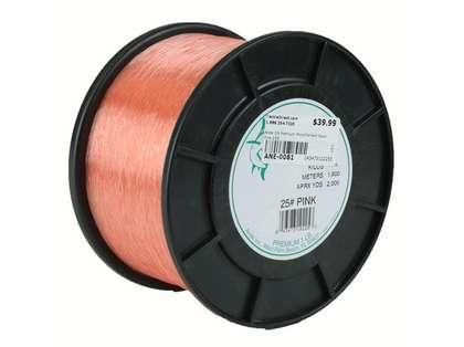 Ande Premium Mono 1 Lb. Spool 25 Lb. Test Pink