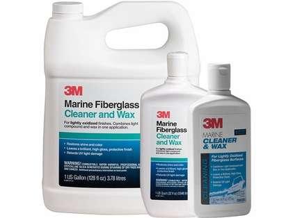 3M Marine Fiberglass Cleaner and Wax