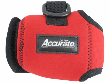 Accurate Conventional Reel Cover - Red - Large