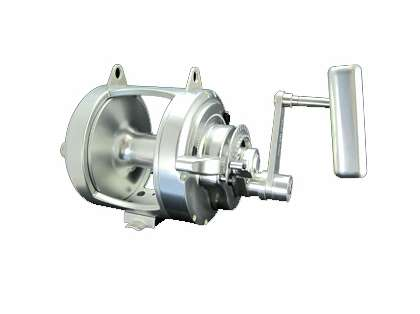 Accurate ATD-80 Platinum Twin Drag Reel - Left Hand