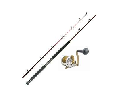 Accurate Boss Fury Single Speed Reels / Extreme BX Series Rods Combos