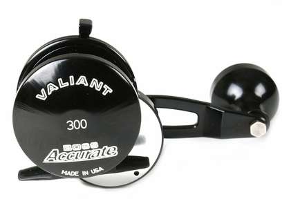 Accurate BV-300L-B Boss Valiant Conventional Reel - Black