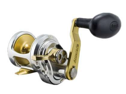 Accurate FX-400LGS Fury Single Speed L/H Reel