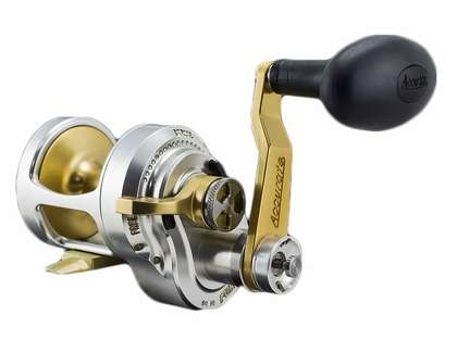 Accurate FX2-400LGS Boss Fury 2-Speed L/H Reel
