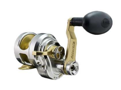 Accurate FX2-400NLGS Boss Fury 2-Speed L/H Reel