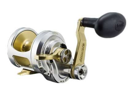 Accurate FX2-500G Boss Fury 2-Speed Reel - Gold