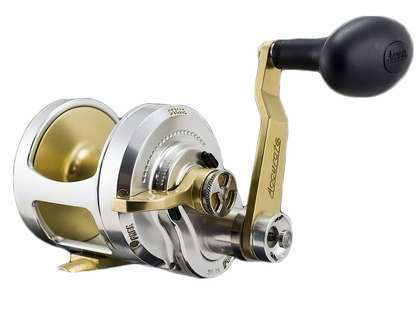 Accurate FX2-600G Boss Fury 2-Speed Reel - Gold