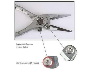 Accurate PXL-6736 Piranha Extra Lite Cutters Kit