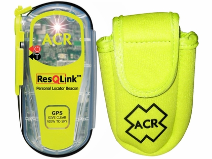 ACR PLB Rescue Kit w/ ResQLink406 MHz GPS PLB & Floating Pouch