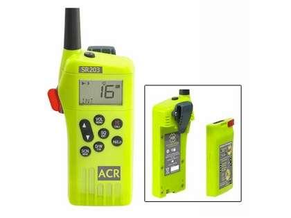 ACR SR203 GMDSS Survival Radio