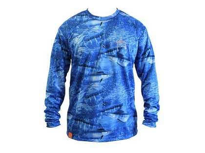 Aftco Guy Harvey Legend Long Sleeve Performance Shirt - Small