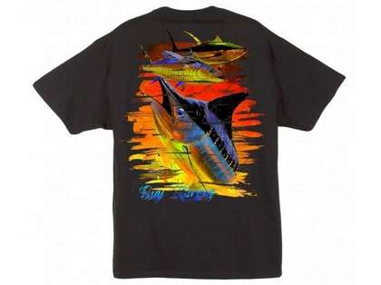 Aftco Guy Harvey Chainsaw SS Tee - XX-Large