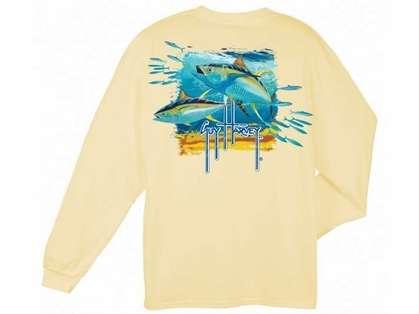 Aftco Guy Harvey Tuna Splash LS T-Shirt