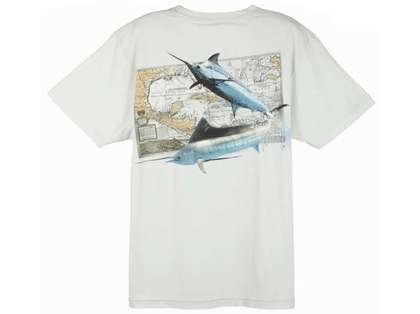 Aftco Guy Harvey Tomahawk SS T-Shirt - Size Large