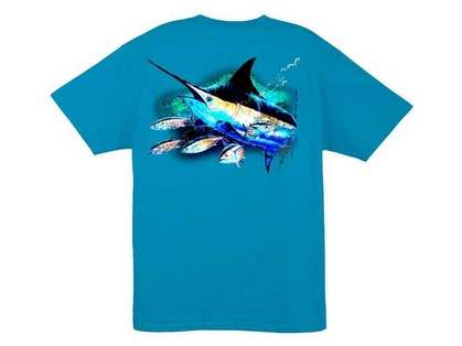 Aftco Guy Harvey Skipping School SS T-Shirt