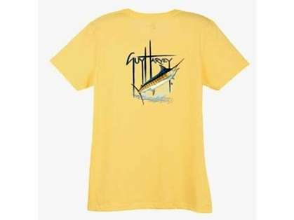 Aftco LTH3294 Guy Harvey Blue Womens Tee Shirt