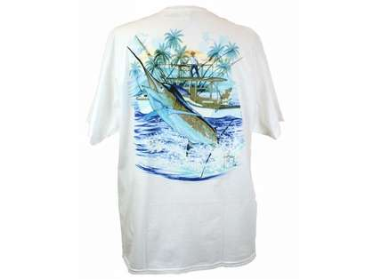 Aftco Marlin and Boat Tee Shirt