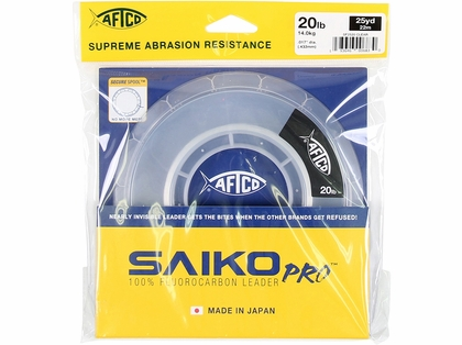 Aftco Saiko Pro Fluorocarbon Leader - Clear