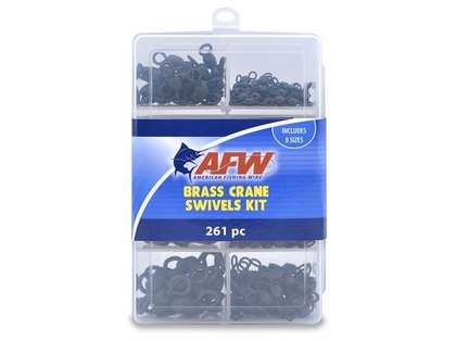 AFW TKB00004 Brass Crane Swivels Kit, 261 Pieces