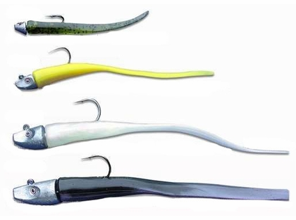 Al Gags EEL1 Whip-It Eel Lure 8in 45 New Penny